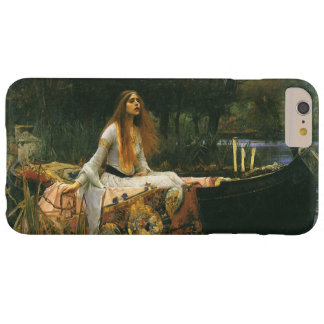 La señora de Shalott en el barco por el Waterhouse Funda Barely There iPhone 6 Plus