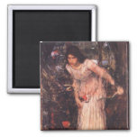 La señora de Shalott (estudio) Iman De Frigorífico