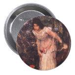 La señora de Shalott (estudio) Pins