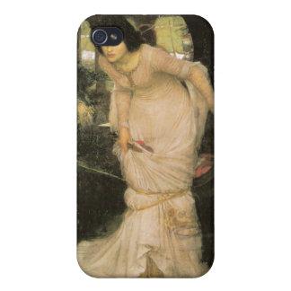 La señora de Shalott - John William Waterhouse iPhone 4/4S Carcasa