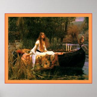 La señora de Shalott Poster