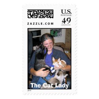 La señora del gato envio
