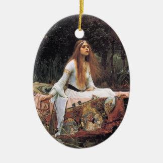 La señora del ornamento del chalote ornamento para reyes magos
