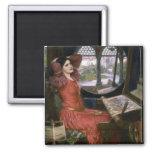La señora del Waterhouse de Shalott Iman De Nevera