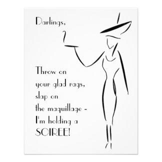 La señora en el gorra grande 1
