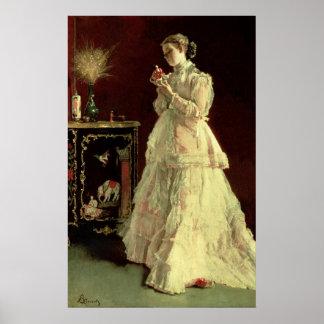 La señora en el rosa, 1867 impresiones