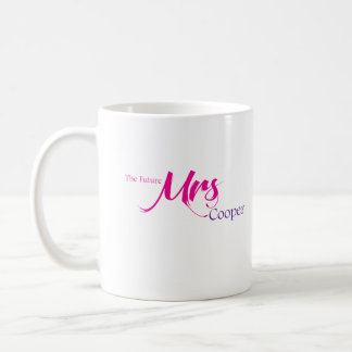 La señora futura Cooper Taza De Café