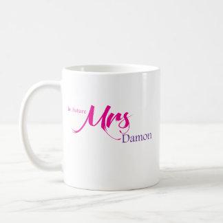 La señora futura Damon Taza De Café