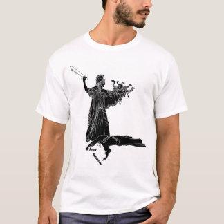 La Senora Justicia - Parton saint of Home-Shoolers T-Shirt