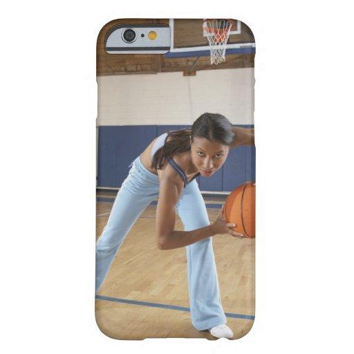 La Señora, muere baloncesto del mit, duckt del Funda Barely There iPhone 6