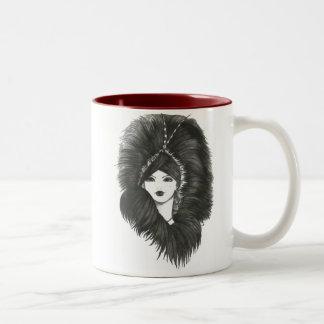 La señora Mug de la tarde Taza De Café
