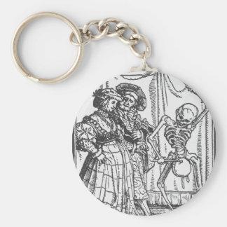La señora noble de Hans Holbein el más joven Llavero Redondo Tipo Pin