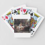 La señora Of Shallot Baraja Cartas De Poker