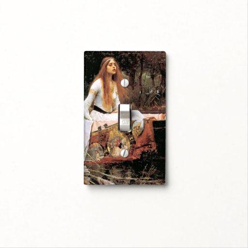La señora Of Shallot - cambie la placa Tapas Para Interruptores