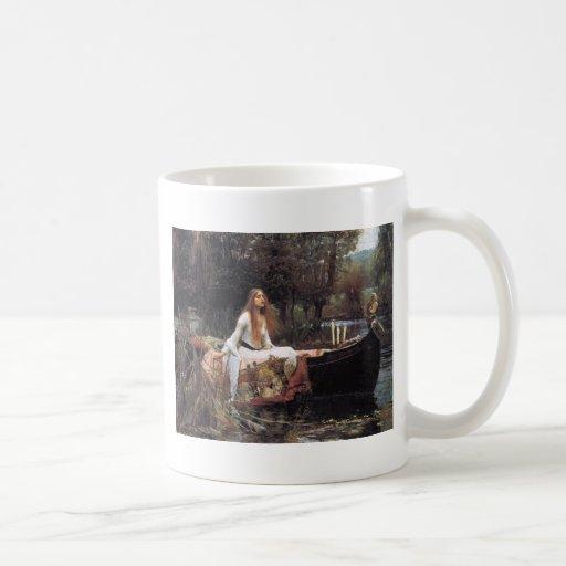 La señora Of Shallot Mug Taza
