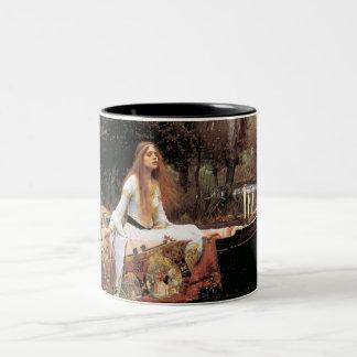 La señora Of Shallot Mug Taza De Dos Tonos