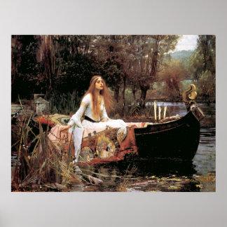 La señora Of Shallot - poster