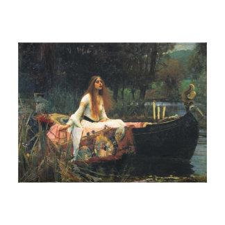 La señora Of Shalott - reproducción de la lona del Impresión En Lienzo