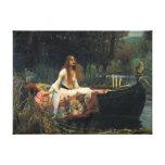 La señora Of Shalott - reproducción de la lona del Impresion En Lona