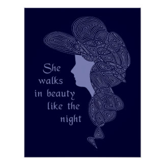 La señora Poster de Byron