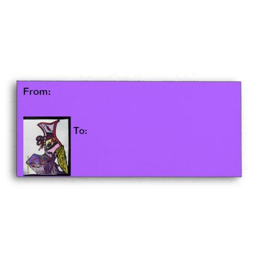 La señora púrpura es zapato