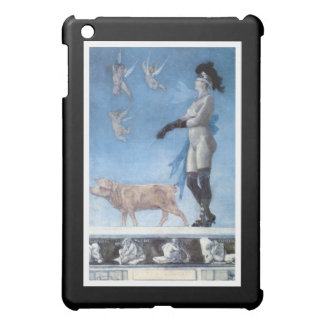 La señora y el cerdo Pornokrates iPad Mini Carcasas