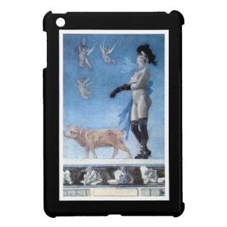 La señora y el cerdo Pornokrates iPad Mini Carcasa