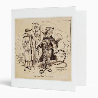 """La señora y el tigre de Clifford K. Berryman Carpeta 1"""""""