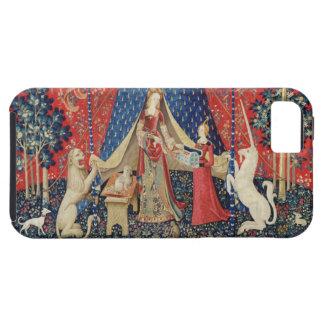 La señora y el unicornio A mi solamente desire iPhone 5 Funda