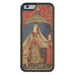 La señora y el unicornio: 'A mi solamente desire Funda De iPhone 6 Bumper Arce