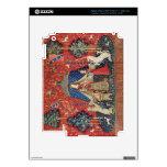 La señora y el unicornio: 'A mi solamente desire iPad 3 Pegatinas Skins