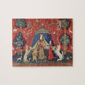 La señora y el unicornio: 'A mi solamente desire Puzzles Con Fotos
