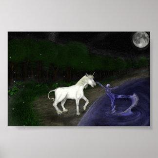 La señora y el unicornio impresiones