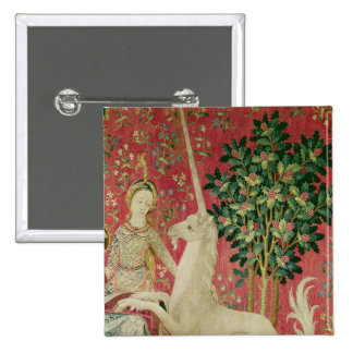 La señora y el unicornio: 'Sight Pin Cuadrado