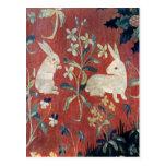 La señora y el unicornio: 'Taste Tarjeta Postal