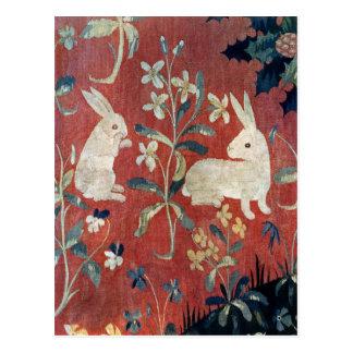 La señora y el unicornio: 'Taste Tarjetas Postales