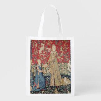 La señora y el unicornio: 'Taste Bolsa Reutilizable