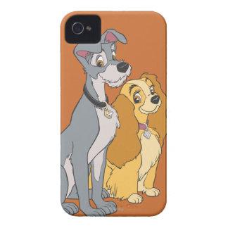 La señora y el vagabundo se unen iPhone 4 Case-Mate protector