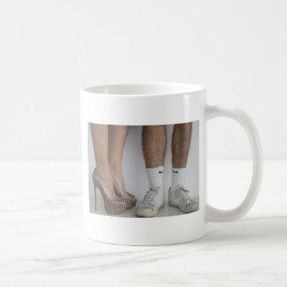 La señora y el vagabundo taza de café