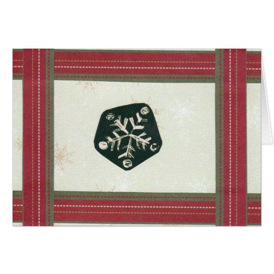 La sensación del navidad tarjeta de felicitación