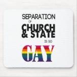 La separación de iglesia y de estado es tan GAY Alfombrillas De Ratones