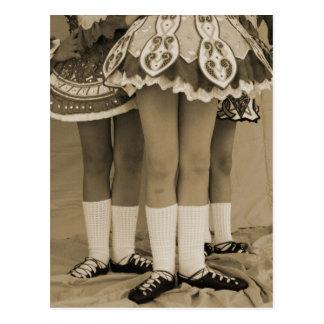 La sepia entonó la postal de la danza del irlandés