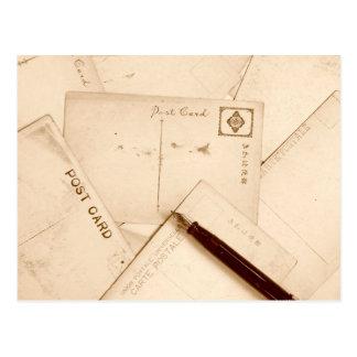 La sepia entonó las postales del vintage