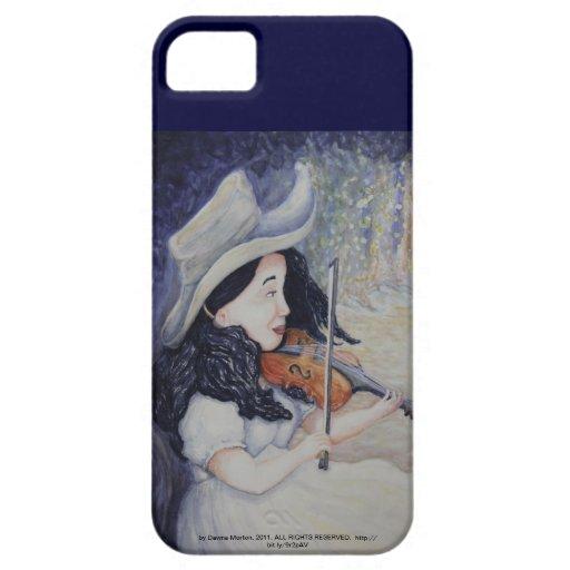 La serenata crepuscular otoñal de la mujer iPhone 5 Case-Mate coberturas