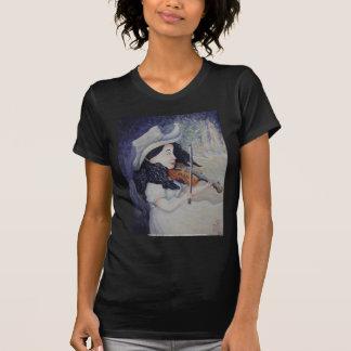 La serenata crepuscular otoñal de la mujer camisetas
