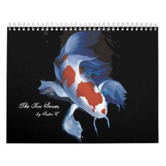 La serie de Koi, por la hermana C Calendarios