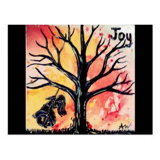 La serie del árbol: Alegría Tarjetas Postales