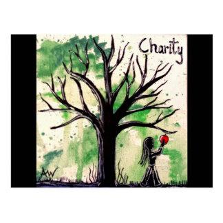 La serie del árbol: Caridad Tarjeta Postal