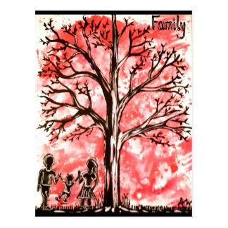 La serie del árbol: Familia Postal