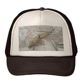 La serie del señuelo del vintage articuló el gorra